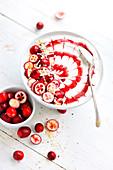 Fruit Bowl mit Cranberries