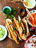 Banh Mi (Sandwich mit Schweinefleisch, Vietnam)