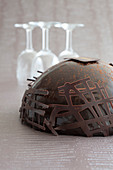 All chocolate dome