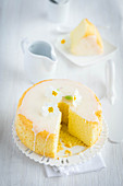 Lemon angel cake