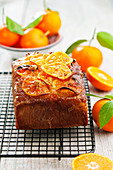 Clementine and poppyseed cake