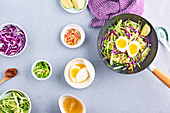 Vegetable Ramen-style wok