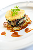 Duck and spinach small Parmentier