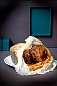 Kuchen mit Trockenfrüchten und Rosinen