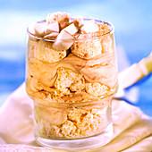 Chocolate and coconut tiramisu
