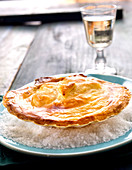 Coquille Saint-Jacques sealed with pastry