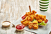 Fun potato croquettes for kids