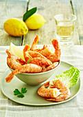 Plain shrimps