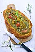 Pesto Fougasse