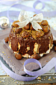 Chocolate And Chestnut Charlotte