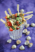 Cockle And Vegetable Mini Brochettes
