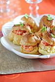Small Crayfish Cream Puffs