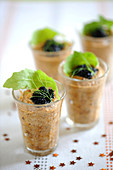 Eggplant Caviar Mousse With Fish Roe