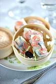 Shrimp And Truffle Raviolis