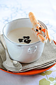 Cream Of Langoustine Soup With Truffles