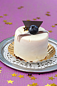 Blueberry And Kirsch Small Log Cake