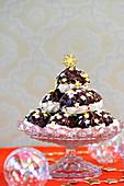 Chocolate Meringue Pyramid
