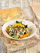 Wild Rice And Orange Salad