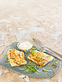 Grilled Hake Fillets With Lemon