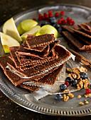 Cinnamon-Flavored Apple Crisps