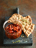 Jar Of Sun-Dried Tomatoes In Oil