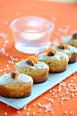 Mini Carrot And Hazelnut Cakes