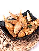Deep-fried Céteaux ,small fish