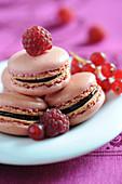 Red fruit Macarons