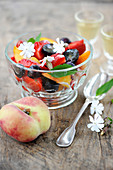 Summer fruit salad with Lemonicello