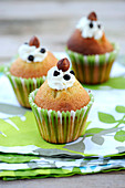 Choco-hazelnut cupcakes