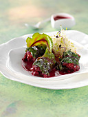 Dolmas-style beetroots