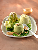 Cabbage trilogy,Aurore sauce