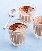 Kakaocreme mit Agavensirup, ohne Ei