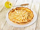Confectioner's custard apple tart
