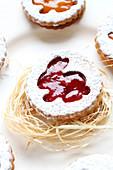 Marmeladenplätzchen zu Ostern