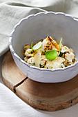 Crunchy Cauliflower Salad with Lemon Confit