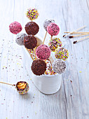 Lactose and butter free cake pop