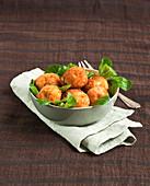 Spanish breaded fishballs