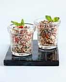 Provencal quinoa tabbouleh