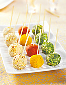 Cake Pop-Style Cheese Ball Appetizers