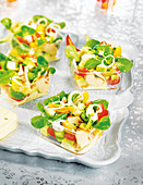 Sweet Corn Lettuce And Lobster Salad