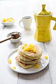 Coconut-Pineapple Pancakes
