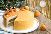 Apricot And Rosemary Entremet