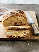 Diced Bacon And Comté Cheese Bread Loaf