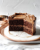 Tomato soup cake with chocolate