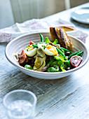 Artichoke salad niçoise