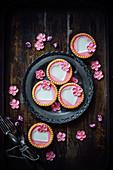 Cherry Blossom tarts