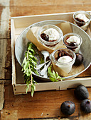 Fig and Whipped Cream Faisselle