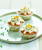 Pear and ginger cupcakes