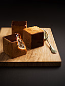 Pave Chocolat (Schokoladengebäck in Würfelform)